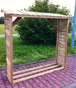 Brennholzregal  Kaminholzregal, Brennholzregal, Stapelbox für ca. 2 m³: Amazon.de ...