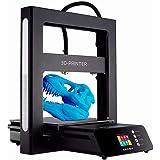 JGAURORA 3Dプリンターキット【工厂直销】1.75mmノズル 高精度印刷 A5 組立てビデオ最大印刷サイズ 305*305*320mm 半自動平準化操作 USBスティック 付属