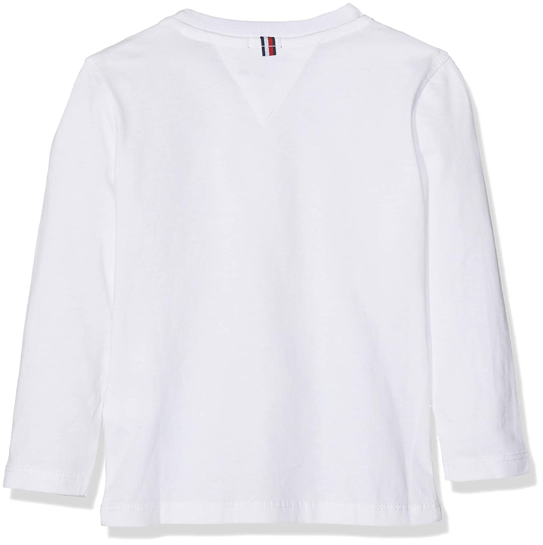 TOMMY HILFIGER Boys Basic CN Knit L//S T-Shirt Bambino
