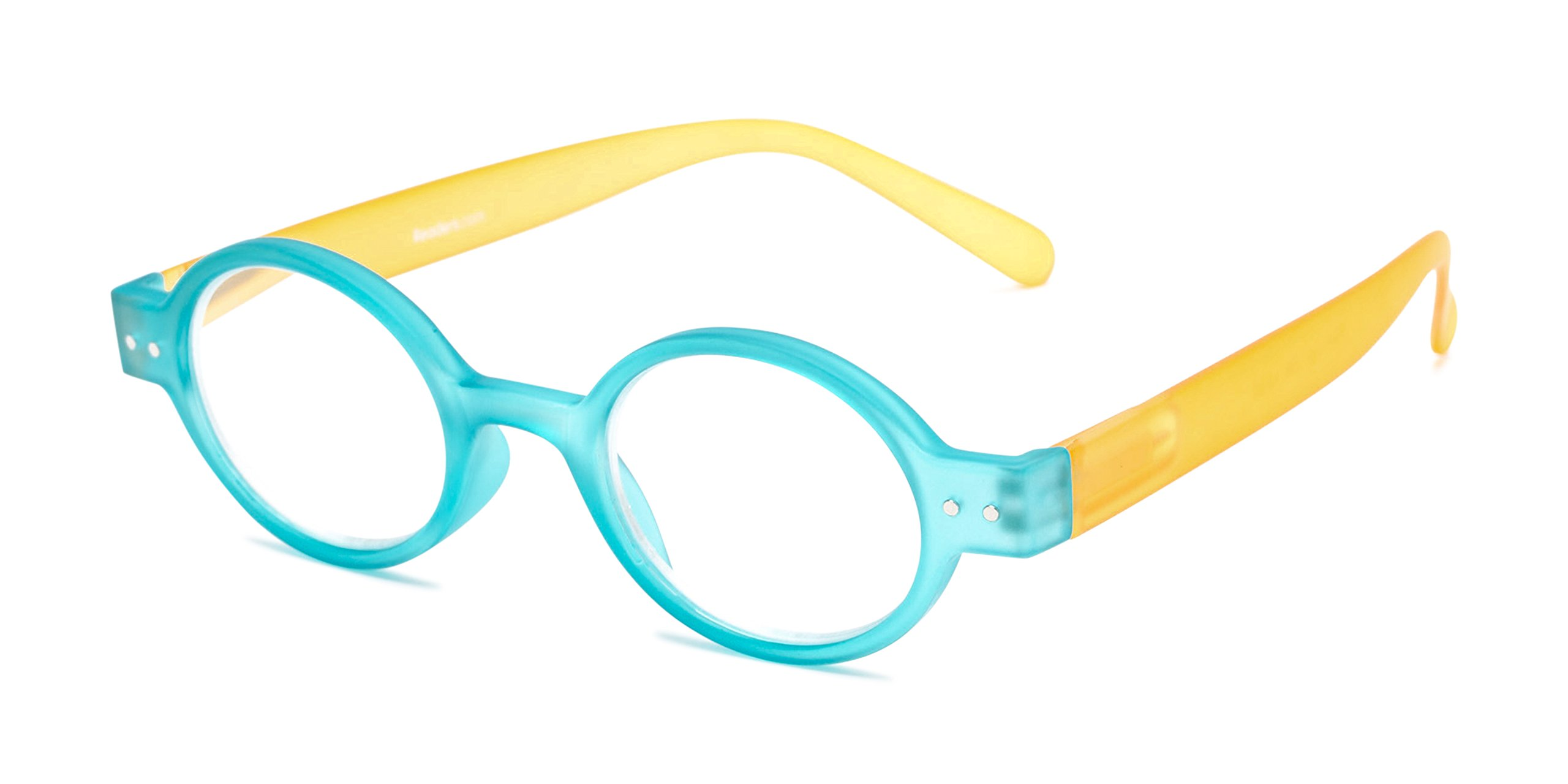 The Flamingo +1.75 Blue/Yellow Reading Glasses