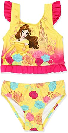 PCLOUD Princess Girls Swimsuits Toddler//Little Kid//Big Kid