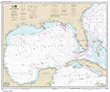 nautical chart gulf of mexico - NOAA Chart 411: Gulf of Mexico (TRADITIONAL PAPER) 35.3 x 42.5