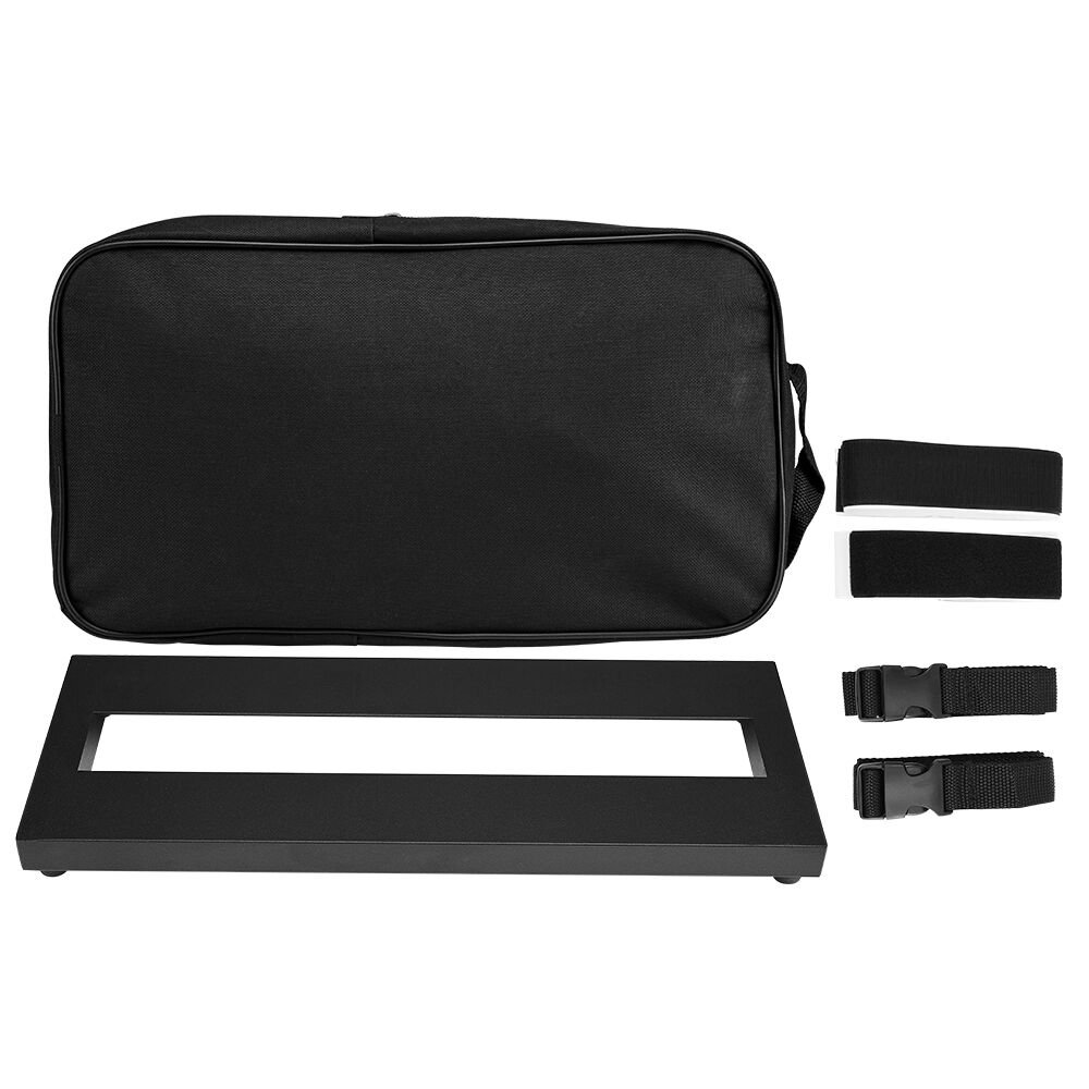IRICH Guitar Pedal Board, Lightweight Pedalboard (37X20X7cm) with Carry Bag - Small by Irich