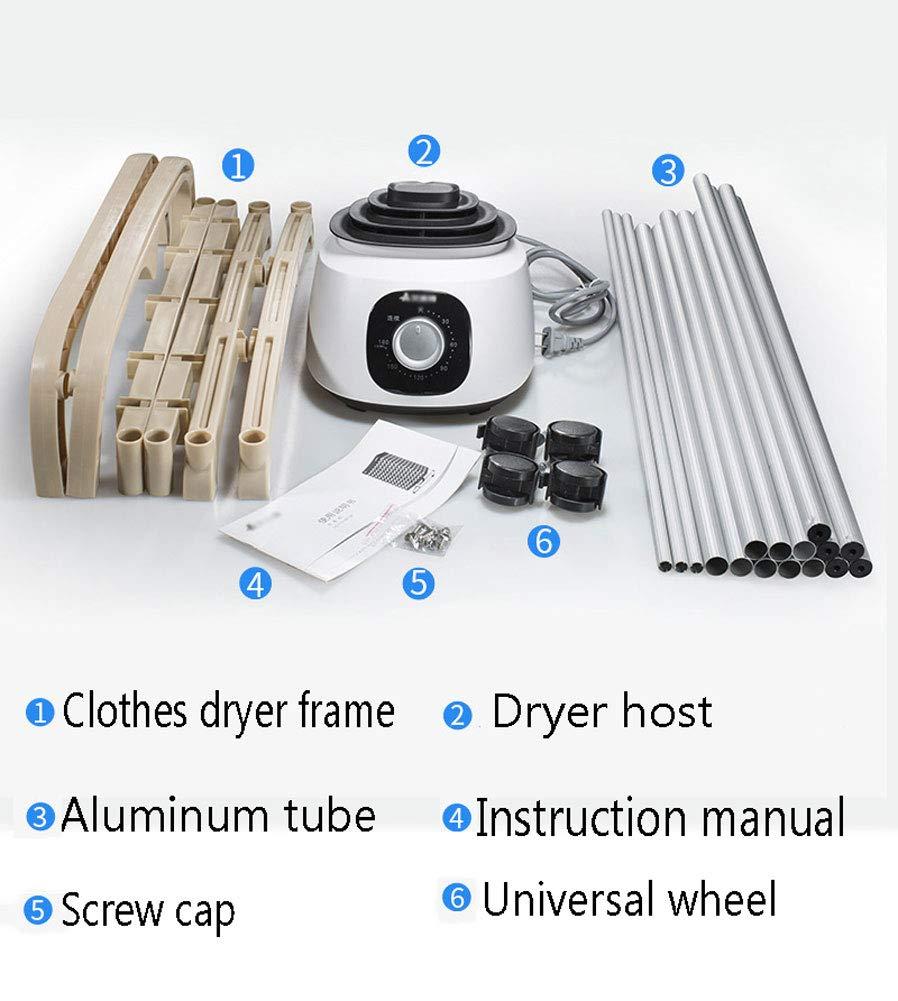 Secador Portátil de Aire Caliente para Interiores con ...
