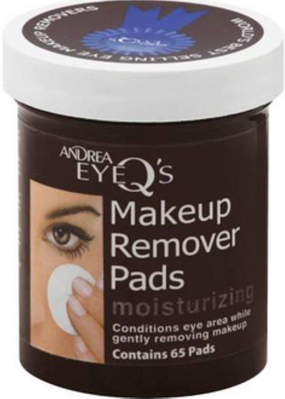 Andrea Eye Q's Eye Make Up Remover, Eye Q's Moisturizing, 65 pads Eye Q' s Moisturizing A.I.I.145656