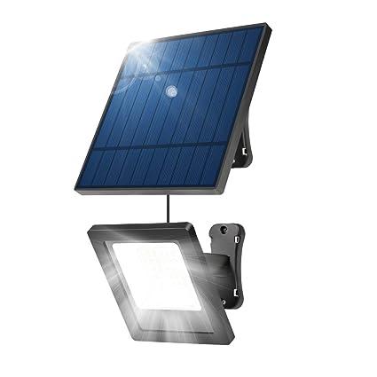 Amazon.com: NING ZE XIN Luces Solares al aire libre, 30 LED ...