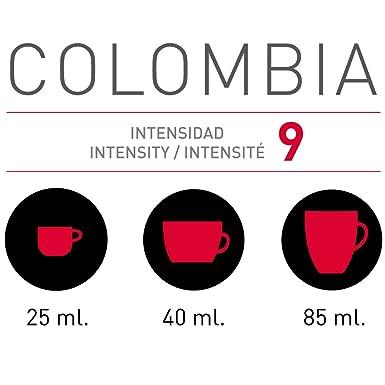 VIAGGIO ESPRESSO - 60 Cápsulas de Café Compatibles con Máquinas Nespresso - COLOMBIA: Amazon.es: Alimentación y bebidas