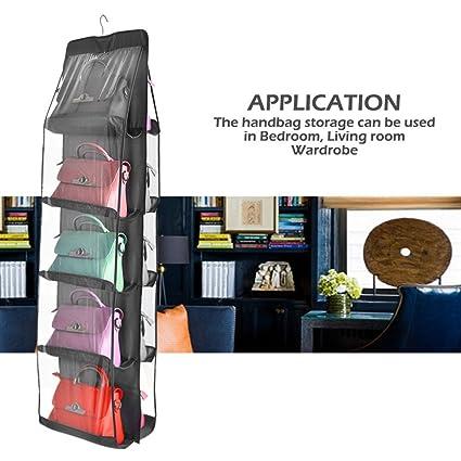 tophomer para colgar bolso organizador armario 10 bolsillos armario ropa bolsas de zapatos para dormitorio sala