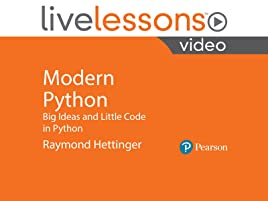 Amazon com: Modern Python: Big Ideas and Little Code in