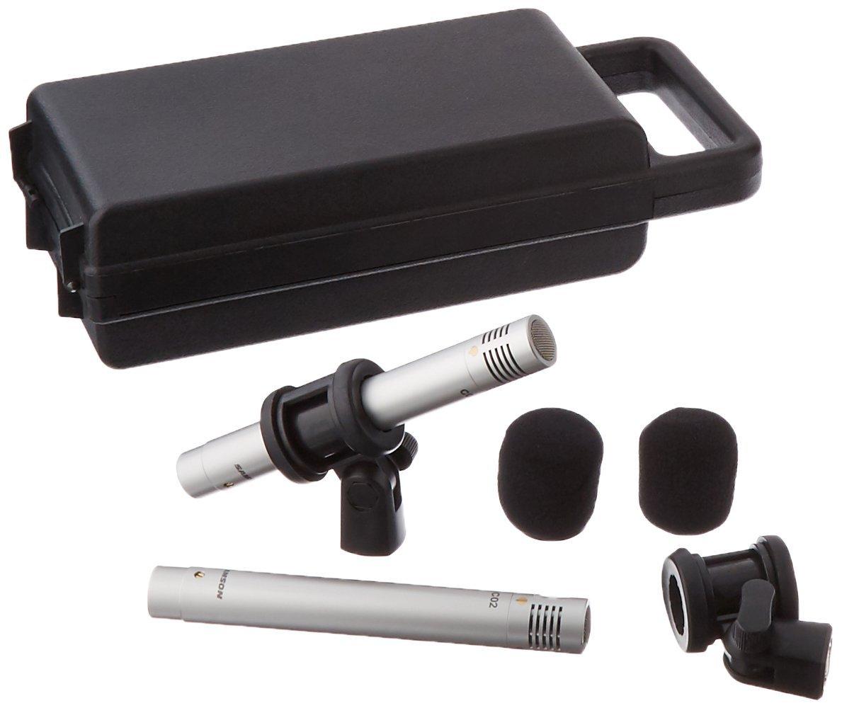 Samson C02 Stereo Pair Condenser Microphones Samson Audio SAM C02PR