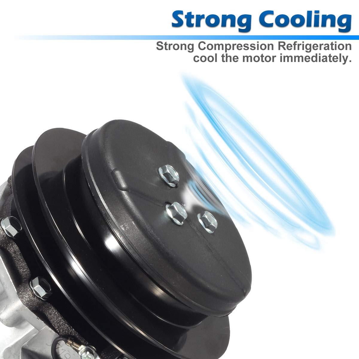 AC Compresor & a/c embrague reemplazar Co 29003 C re12513 John Deere: Amazon.es: Coche y moto