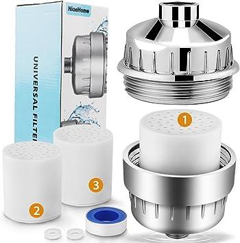 Filtro de ducha, 8-stage purificador de agua, alta salida ...