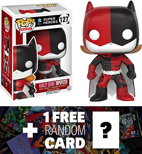 [Harley Quinn / Batgirl Imposter: Funko POP! x DC Universe Vinyl Figure + 1 FREE Official DC Trading Card Bundle] (Costume Catwoman Vinyl)