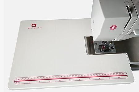 HONEYSEW Mesa extensible portátil / grande de coser para Singer ...
