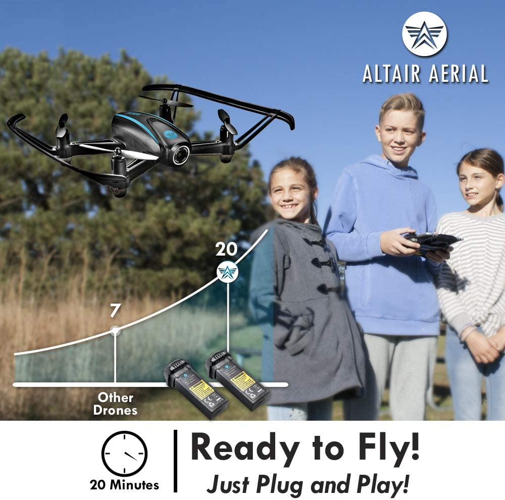Altair Aerial AA108 is at #1 for best drone for teenager.