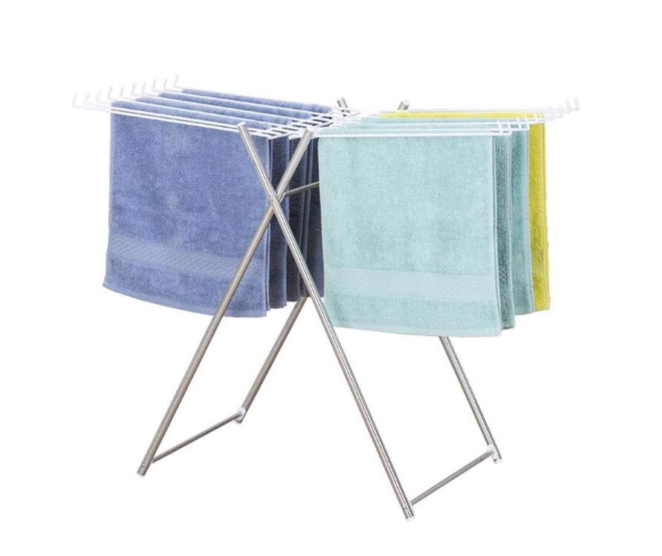 折りたたみ乾燥ラック、ミニ乾燥タオル掛けフロアタイプ家庭用折りたたみ室内乾燥ラック B07S671NZ1