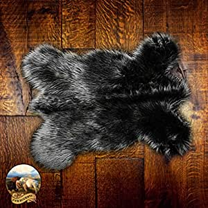 Amazon Com Faux Sheepskin Area Throw Rug Shaggy Shag Mini