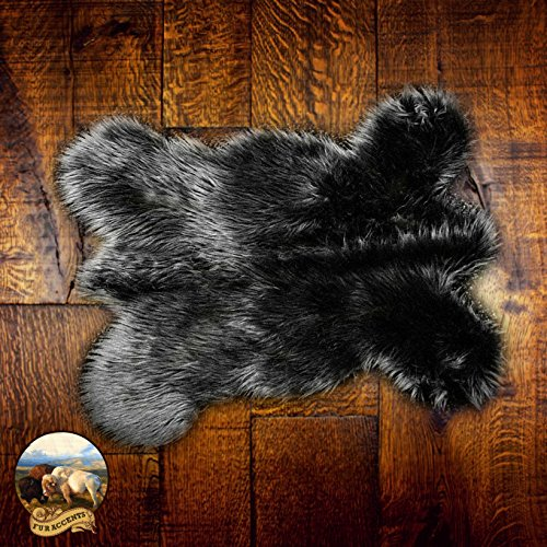 (Faux Sheepskin Area Throw Rug Shaggy Shag Mini 18