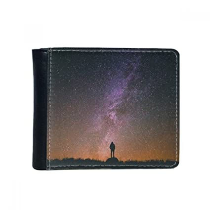 Amazon.com: Night Sky Stars Milky Way Silueta Flip Piel ...