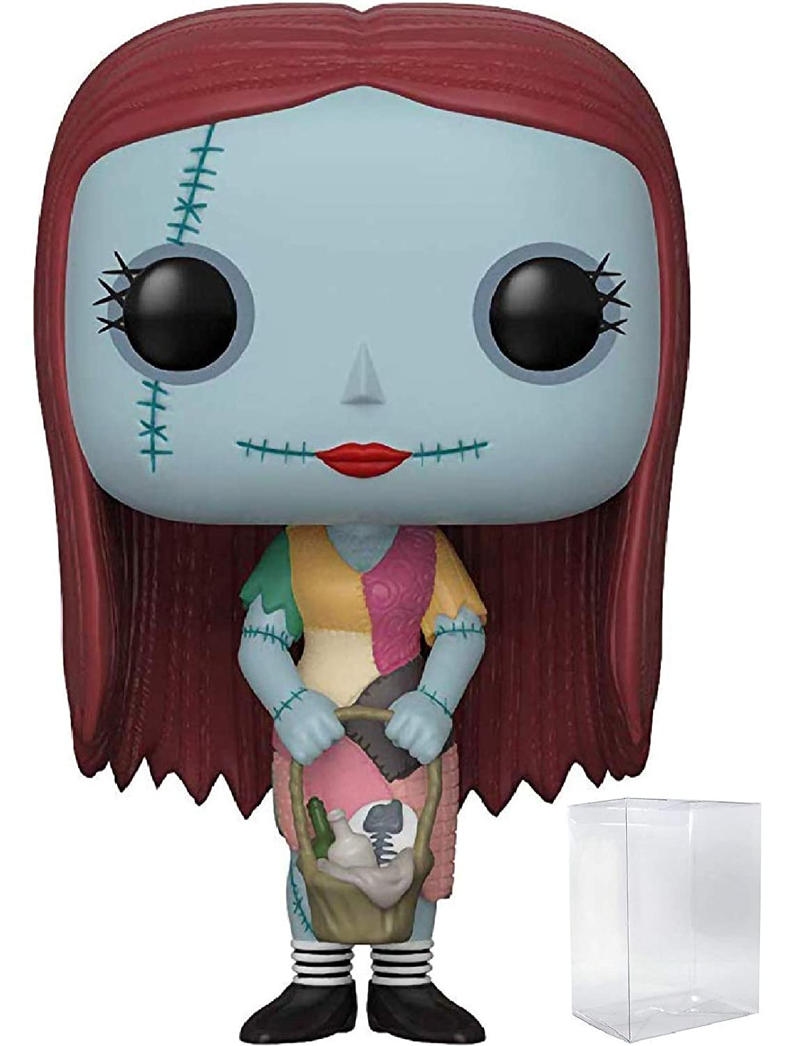 Disney: The Nightmare Before Christmas Includes Pop Box Protector Case Funko Pop Sally with Basket Vinyl Figure