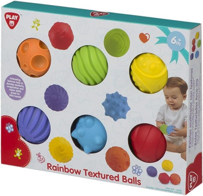 Color Baby- Caja Set 6 Pelotas Diferentes Texturas, 35 x 20 cm ...