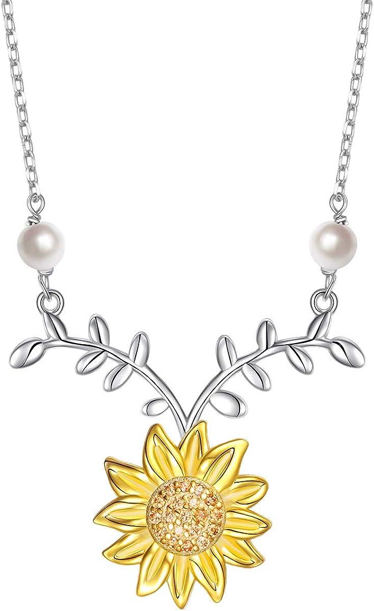Sterling Silver Sunflower...