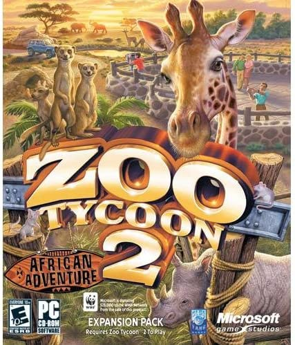 Microsoft Zoo Tycoon 2: African Adventure Expansion Pack - PC
