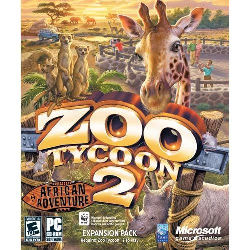 Amazon com: Microsoft Zoo Tycoon 2: African Adventure Expansion Pack
