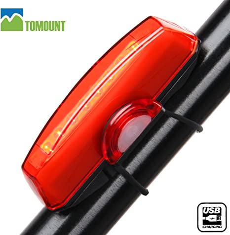 Luz Trasera Impermeable para Bicicleta Recargable USB – TOMOUNT ...