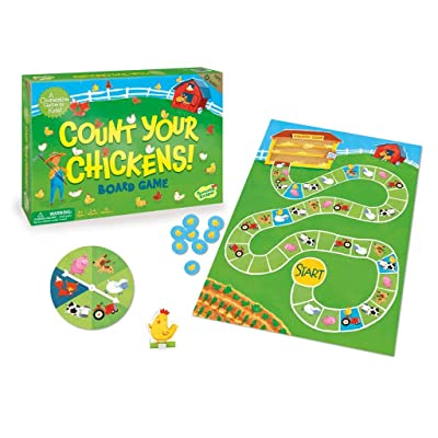 The cooperative games - Peaceable Kingdom Count Your Chickens Award Winning Cooperative Game for Kids