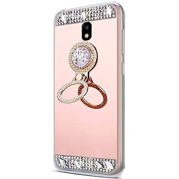 coque samsung j5 2017 miroir diamant