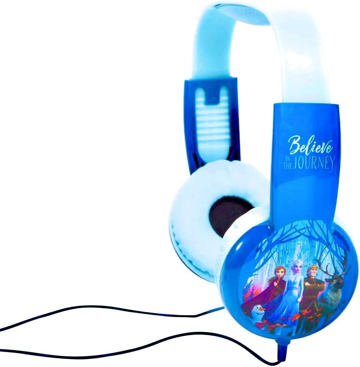 Frozen II Kid Safe Headphones with Volume Limiting Tech
