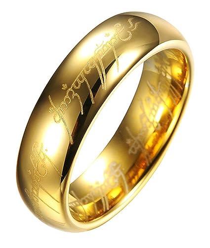 Color Jewels Unisex Verlobungsring Trauring Herr Der Ringe Stil
