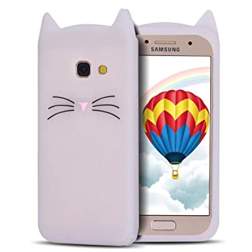 coque samsung a5 2017 chat silicone