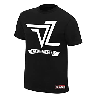 Dolph Ziggler World Destruction Tour WWE Authentic Mens T-shirt-M