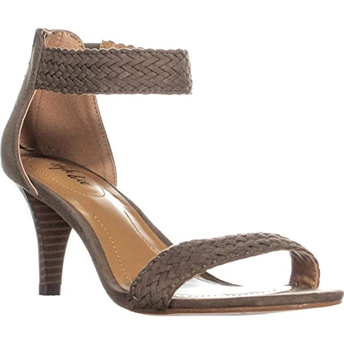 4bbdf9e1efd Style & Co. Womens Patty Faux Suede Ankle Strap Dress Sandals ...