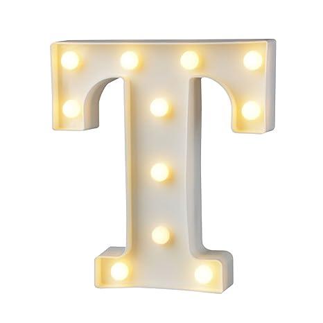 a Led Plastico Luces Decorativas Letras Firmar Z el Alfabeto Luz Led XiukPOZ