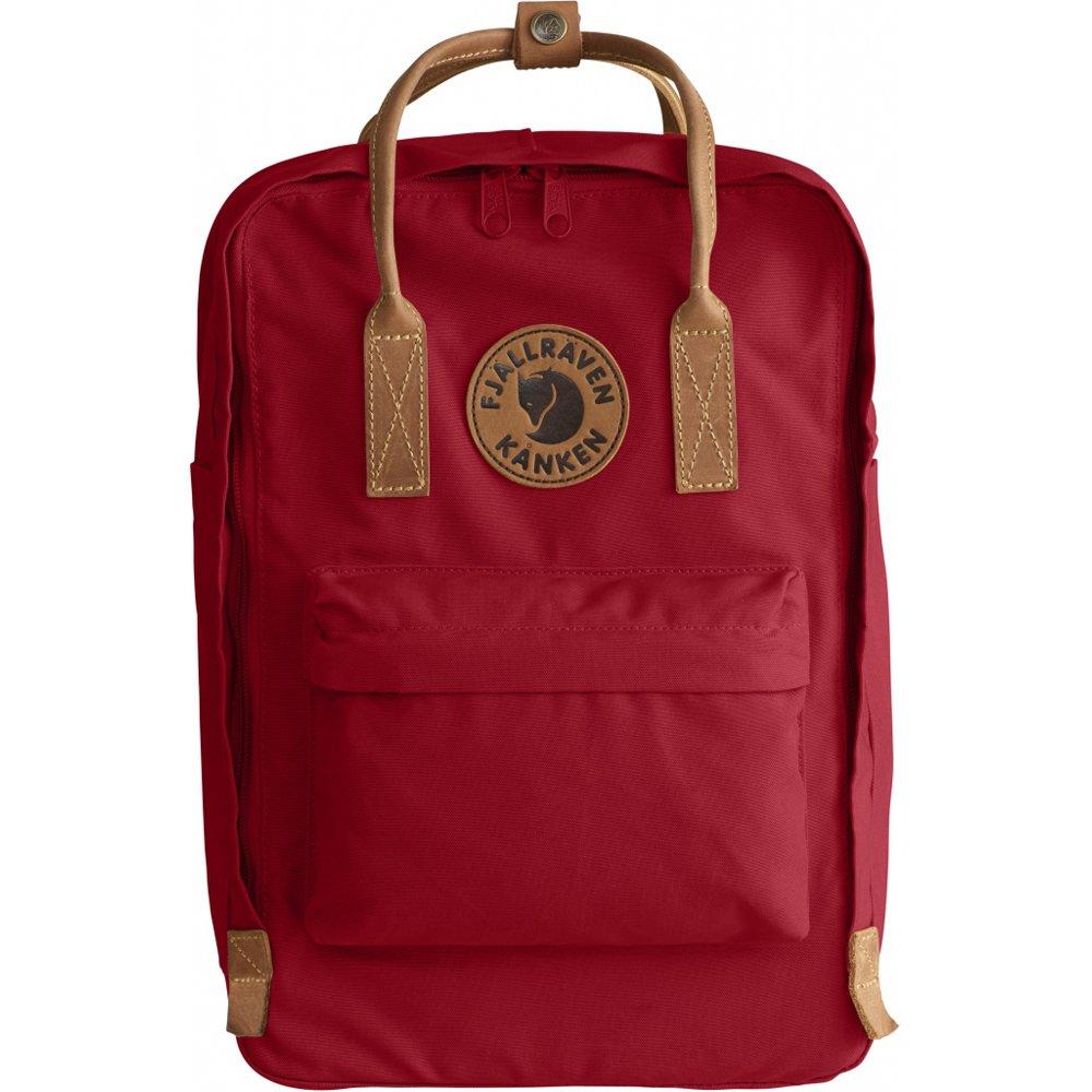 Fjallraven - Kanken No. 2 Laptop 15'', Heritage and Responsibility Since 1960, Deep Red