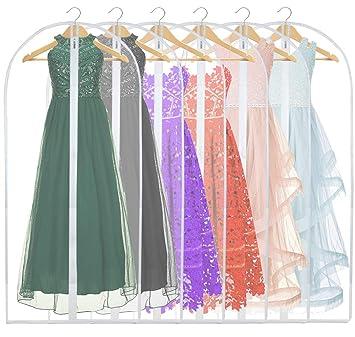 Amazon.com: FABISON bolsa de ropa para vestir, antihumedad ...