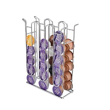 JAUTO Soporte dispensador de cápsulas Rondello cápsulas para Dolce Gusto Nescafe 48 Cápsulas