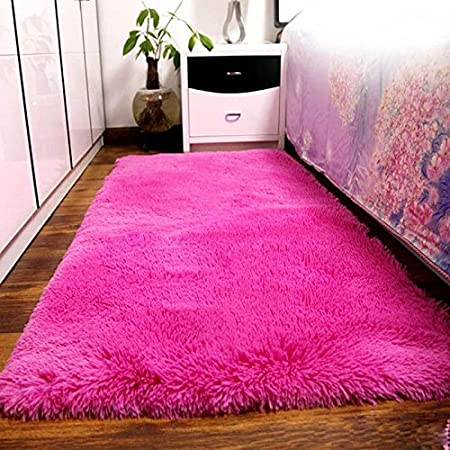 Dosige Fluffy Rugs Area Rug Dining Room Carpet Floor Mats Yoga ...