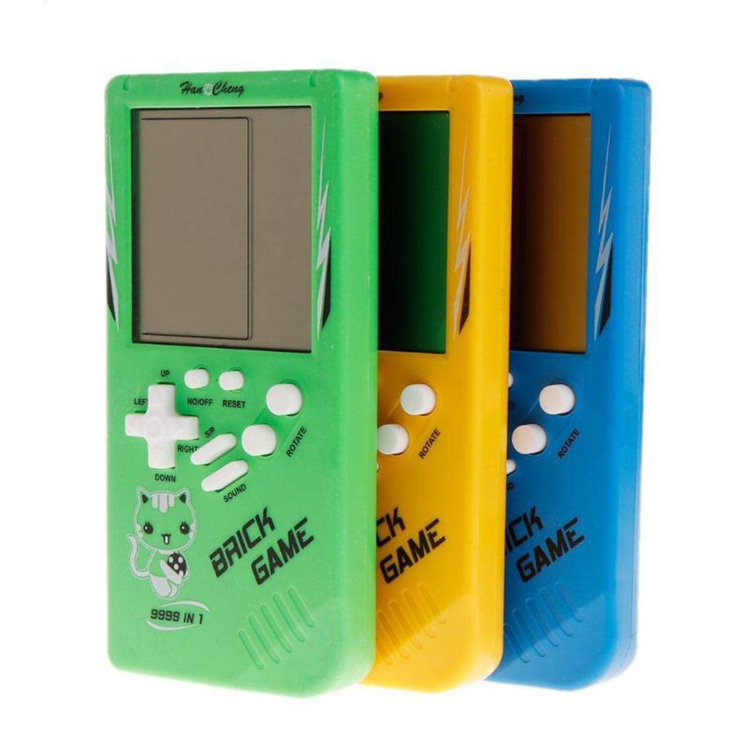 marris New Tetris Handheld Game Console Portable Game Handheld Toys Handheld Games by marris (Image #2)