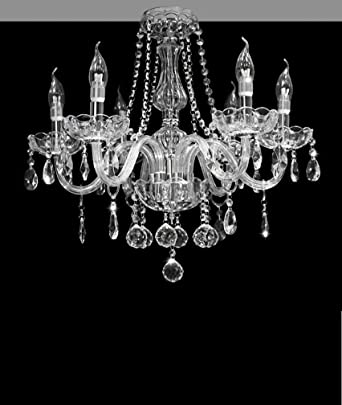 Dst marie therese 6 arms chandelier geniune clear crystal dst marie therese 6 arms chandelier geniune clear crystal glass 6 lights chandeliers ceiling mozeypictures Image collections