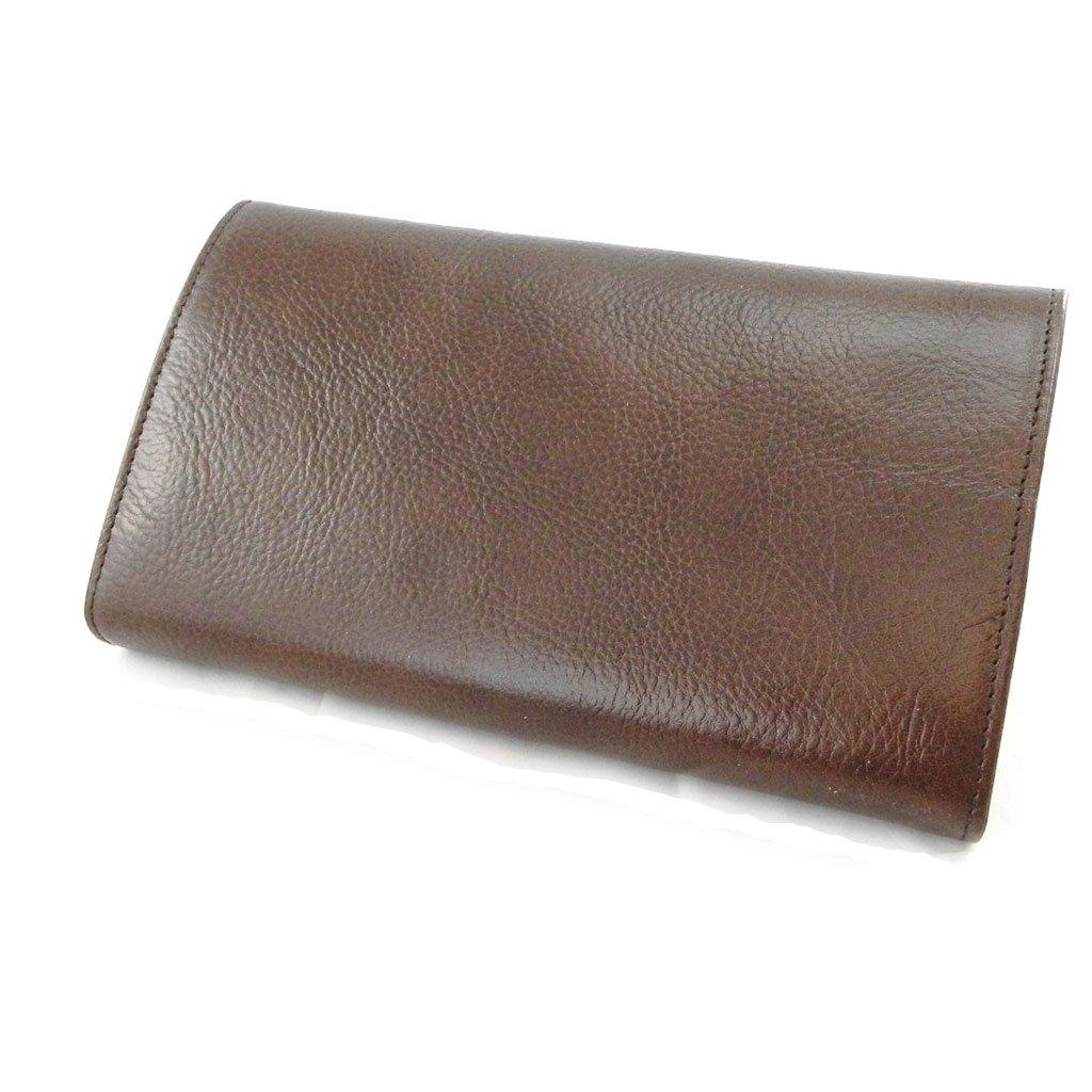 Wallet + checkbook holder leather ''Frandi'' brown - ecological york. by Les Tresors De Lily (Image #4)