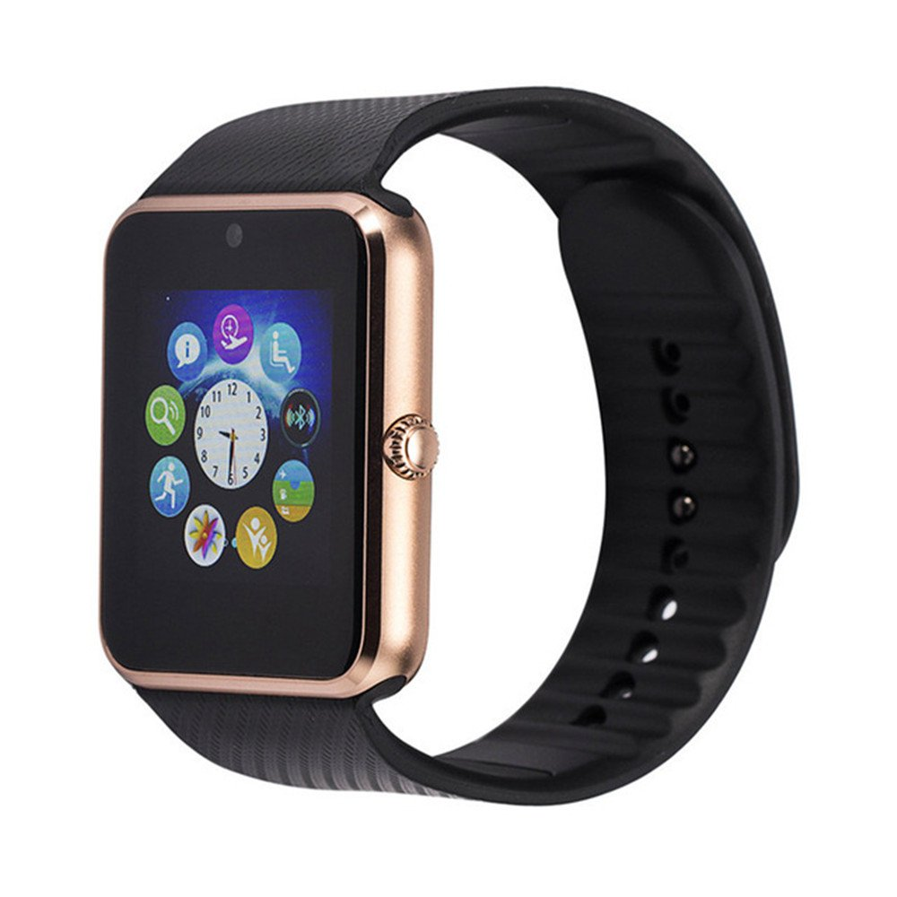 orders electronics agptek intelligent on lcd nfc over for with smart watches phone watch overstock touch wristwatch product cell free android camera shipping