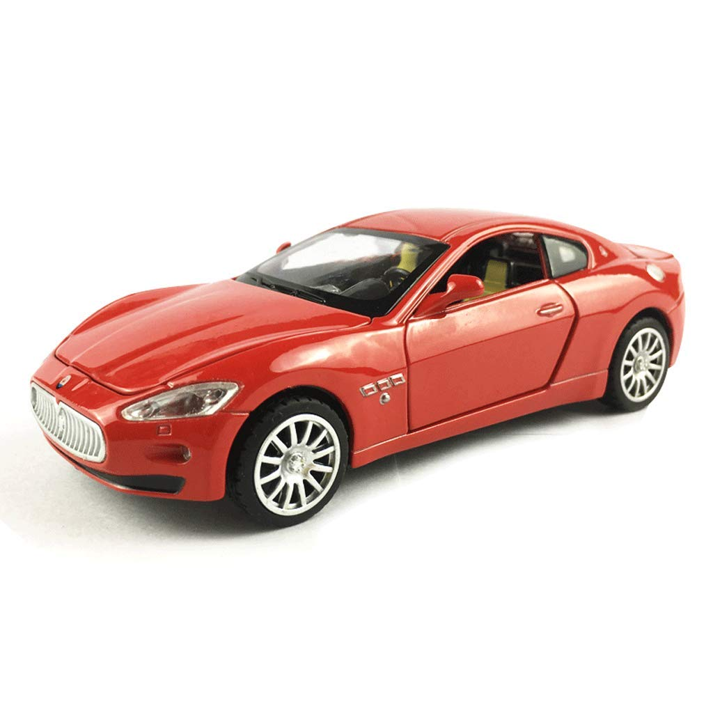 Red KTYXGKL KTYXGKL KTYXGKL Model Car Maserati Sports Car 1 32