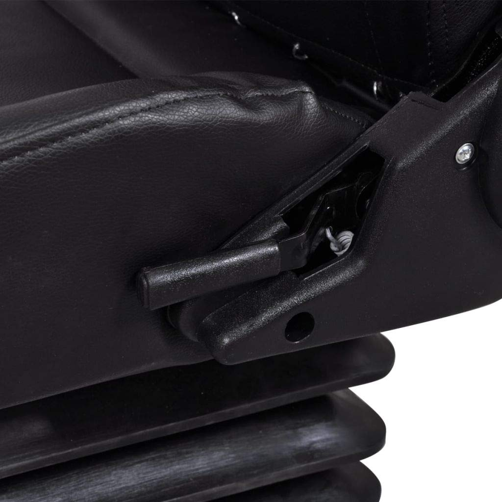 tidyard Asiento para Tractor de Acero//PVC de Alta Estabilidad y C/ómodad de Dise/ño Abierto 106 x 60 x 52 cm