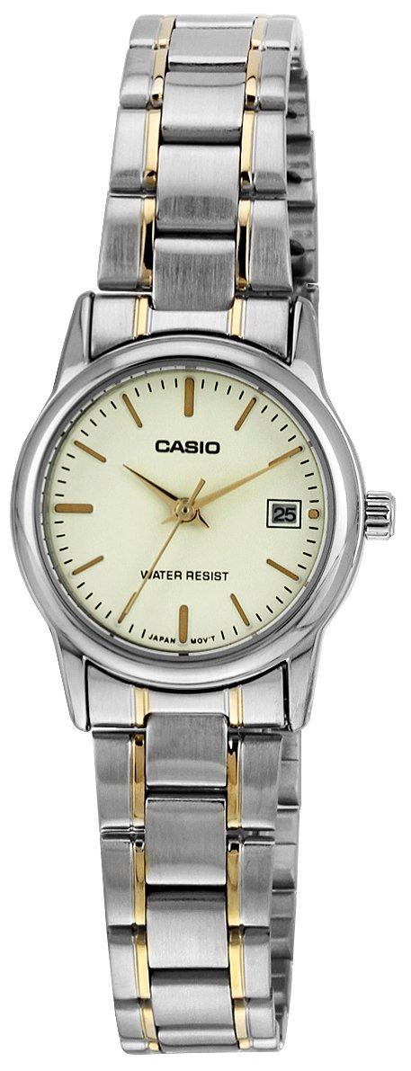 d8efef61edc Relógio Casio Feminino Prata LTPV002SG9AUDF  Amazon.com.br  Amazon Moda