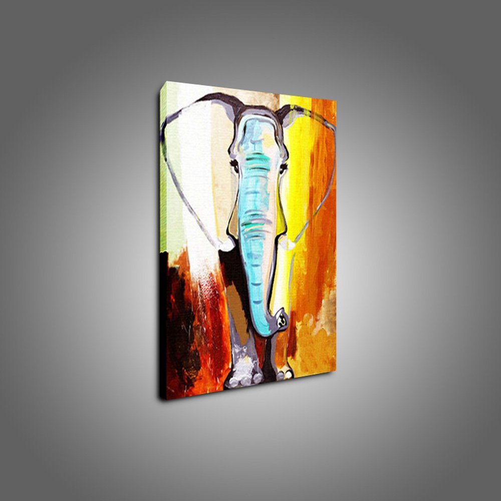 Amazon Com Hasyou Decorative Art 100 Handmade Animal Oil Painting