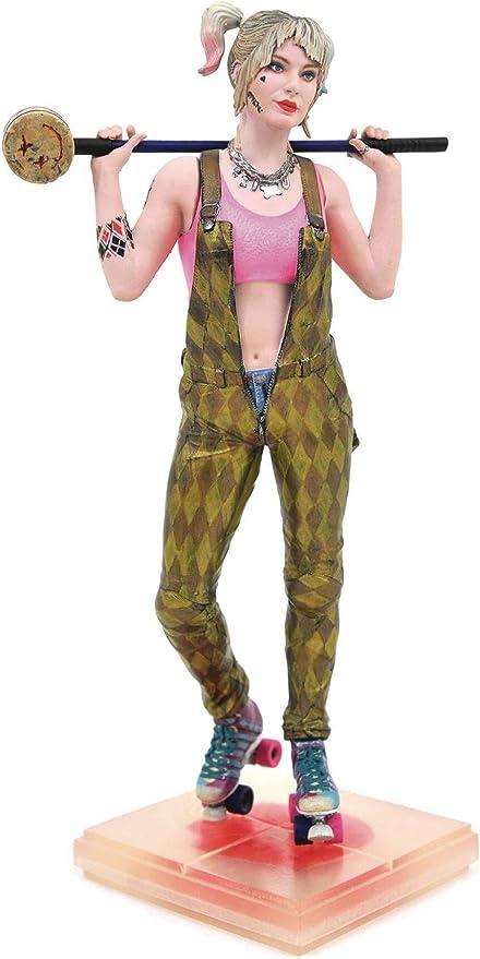 Amazon Com Diamond Select Toys Dc Gallery Birds Of Prey Harley Quinn Pvc Figure Multicolor 9 Inches Toys Games